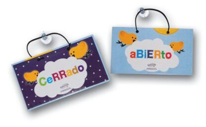 CARTEL ABIERTO/CERRADO